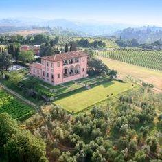 Toskana: Romantisches Hotel Villa Mangiacane - Florenz, Italien