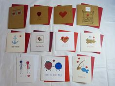 handmade valentines cards by Rosie's Crafts Craft Shop, Calendar, Valentines, Holiday Decor, Cards, Handmade, Gifts, Design, Valentine's Day Diy