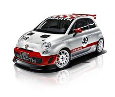 Abarth To Run Competition Starring Ultra Cute 500 Race Cars Fiat 500, Automobile, New Fiat, Fiat Ducato, Fiat Cars, Ford, Fiat Abarth, Automotive News, Car Tuning