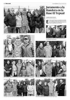 Artículos en esta página: Juramento a la Bandera en la Base El Tepual