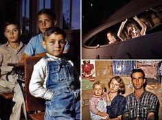 Série de fotos coloridas mostra como era a vida nos EUA durante a II Guerra