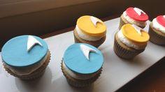 star trek cupcakes - instructions...