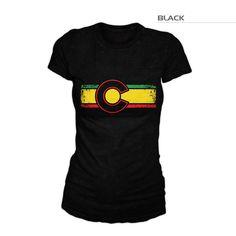 Colorado Reggae Shirt | Reggae Colorado T-Shirt | Colorado Reggae – Fearless State