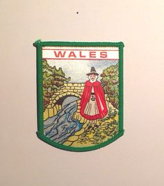 SOUTH OF THE BORDER TOURIST SOUVENIR CLOTH PATCH STITCHED EMBROIDERED DESIGN