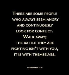 YUP!!! I have no time or tolerance anymore for hateful, defensive people who have emotional issues, are jealous beyond belief, & hate themselves....ESPECIALLY when they disrespect my family & then feel the need to explain themselves after they dish out the disrespect....ummm little insecure & have some personality issues do we?!?! :-):