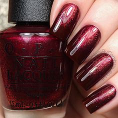 OPI guys and galaxy's and Let your love shine is sponged at the base.
