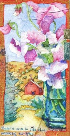 Helen Shafer Garcia  mixed media, illustration, watercolors