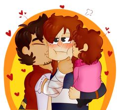 Kisses for Mummy! MCSM by kittykatty123