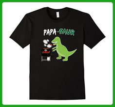 Mens Papa-saur T-Rex Shirt - Men's Dinosaur Tee for Pop's  Large Black - Animal shirts (*Amazon Partner-Link)