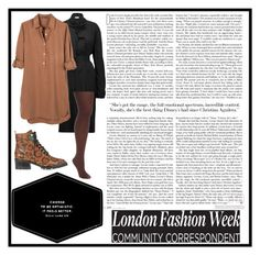 """London fashion"" by tori-holbrook-th on Polyvore featuring Sophia Webster, IRO, United by Blue and Hanes"