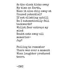 #timeandmemories #poem #poetry #poetsofinstagram #poemsofinstagram #poemoftheday #doubt #fear