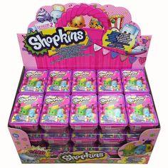 1 Case of 30 (2) Packs of Season 2 Shopkins for 60 shopkins total.