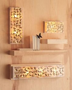 Butterfly+Sconces+by+Tommy+Mitchell+at+Horchow.