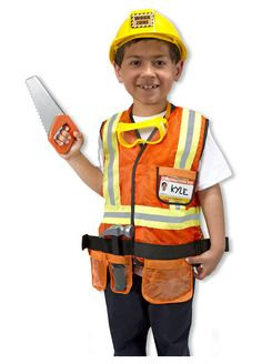 Construction Worker Role Play by Melissa and Doug