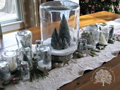 DIY Snow Globes_ Cottage in the Oaks
