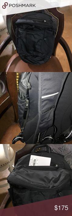 Lululemon Black Backpack Like new lululemon athletica Accessories