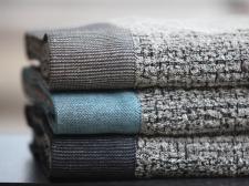 Bath towels, kylpypyyhkeitä. By Pisa Design.