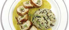 Κοτόπουλο ρολό γεμιστό με αγιορείτικα βότανα για το γιορτινό τραπέζι! Eggs, Meat, Chicken, Breakfast, Rolo, Morning Coffee, Egg, Buffalo Chicken, Rooster