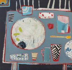 "Saatchi Art Artist Anna Hymas; Painting, ""Pots, Plates, Jugs & Cups"" #art"