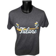Champion® Tulane Baseball T-Shirt - Granite