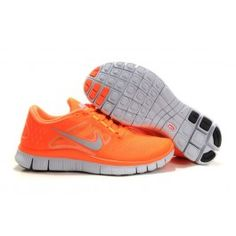 detailed look 952d9 e77d6 Latest Listing Cheap Mens Nike Free Run 3 Vivid Orange Reflect Silver Pure  Platinum Volt Shoes Lightweight Shoes