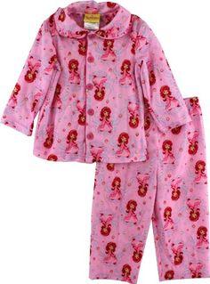"Strawberry Shortcake ""Berry Princess"" Girls Pink Flannel Coat Style Pajama Set (4) Strawberry Shortcake http://www.amazon.com/dp/B00902UCDO/ref=cm_sw_r_pi_dp_en5Cub0FDW6BE"