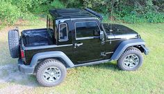 This half hardtop for 2007-2015 2-door Jeep Wrangler JKs turns your Jeep into an entirely new vehicle. You get the quietness and security of a hardtop that retains the ability to remove your Freedo…