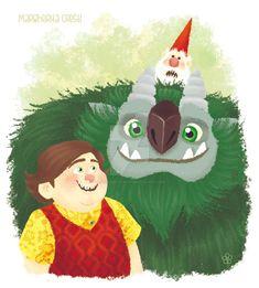Toby, Aaarrrgghh, Gnome by MargheritaCresti.deviantart.com on @DeviantArt