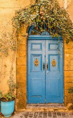 El Jadida, Morocco door