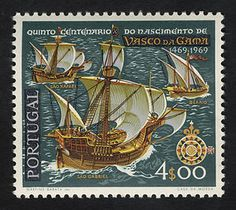 4e Vasco da Gama's Fleet single. Portugal, 1969
