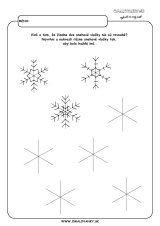 aktivita 00469 2 zima navrhni vlocky Winter, Home Decor, Kindergarten, Crafting, Winter Time, Decoration Home, Room Decor, Home Interior Design, Winter Fashion