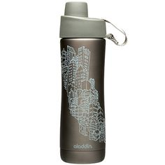 """This """"Perfect Water Bottle"""" from @Aladdin PMI truly is perfect  It's stainless steel (no BPA!), fits perfectly in car cup holder, and is double wall vacuum insulated. #AshleyKoffApproved"""