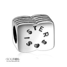 Soufeel Sisters Charm 925 Sterling Silver Shop->http://www.soufeel.com/sisters-charm-925-sterling-silver-fit-all-brands.html