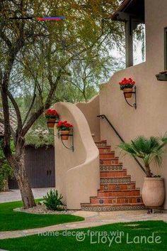 Exterior Wall Spanish Revival 70 Ideas For 2019 Mexican Style Homes, Spanish Style Homes, Spanish Revival, Spanish House, Spanish Colonial, Spanish Style Decor, Spanish Garden, Spanish Design, Style Hacienda