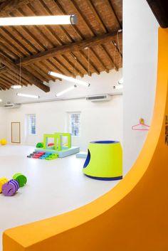 Little England nursery and pre-school Collebeato, Brescia, Italy by Massimo Adiansi Architect