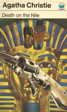Tom Adams Cover Art - Death on the Nile - Agatha Christie