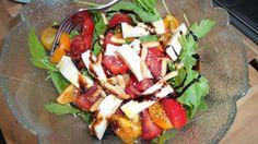 Am Abend gab es bei Anne dann einen schönen, bunten Salat :-)