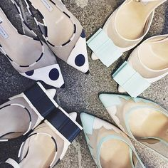 The prettiest and perfect points from @biondacastana #heels