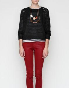 Crossback Sweater
