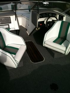 Boat Upholstery & Canvas - Marine Services Boat Upholstery, Boat Seats, Boat Interior, Boat Stuff, Yacht Boat, Motor Boats, Fishing Boats, Canvas, Boating