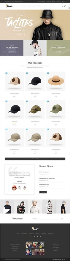 Ap Signme is beautifully design #responsive #Shopify theme for stunning #hat #store eCommerce website with 5 unique homepage layouts download now➩ https://themeforest.net/item/ap-signme-shopify-theme/18552984?ref=Datasata