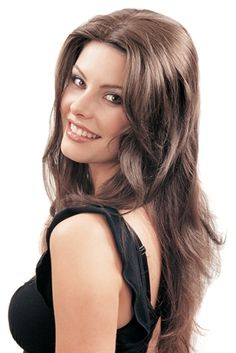Clip in Hair Piece (Long)  Can part and style as you please! Totally natural look!