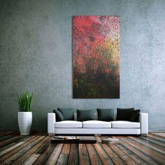 Abstraktes Acrylbild modern 150x80cm von xxl-art.de