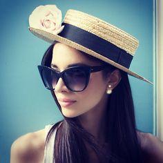 @MissMelissaMelita rocking our Magnifique frame. #DITAgirl #DITAeyewear