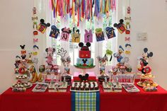 Mickey Mouse Birthday Party Ideas | Photo 1 of 23 | Catch My Party