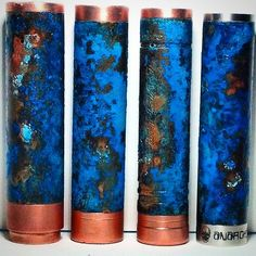 Patina 4 Copper Tube Mods With Salt, Baking Soda and Amonia CAUTION: some foul language, but the tute is awesome!
