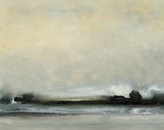 Dusk VI Giclee on Canvas