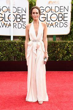 Pin for Later: Seht alle Stars auf dem roten Teppich bei den Golden Globes! Louise Roe