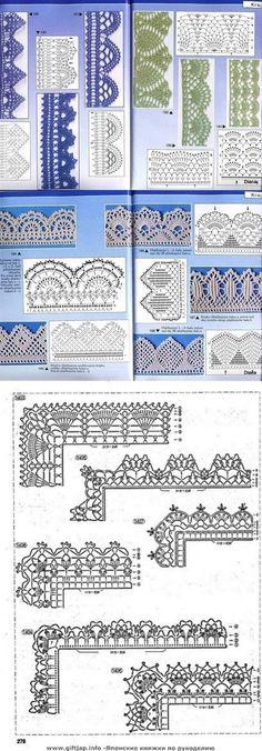 crochet motives diagrams