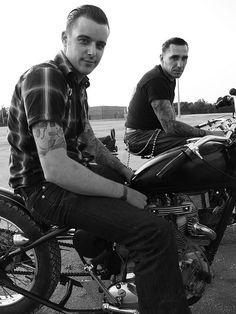 dudes on bikes